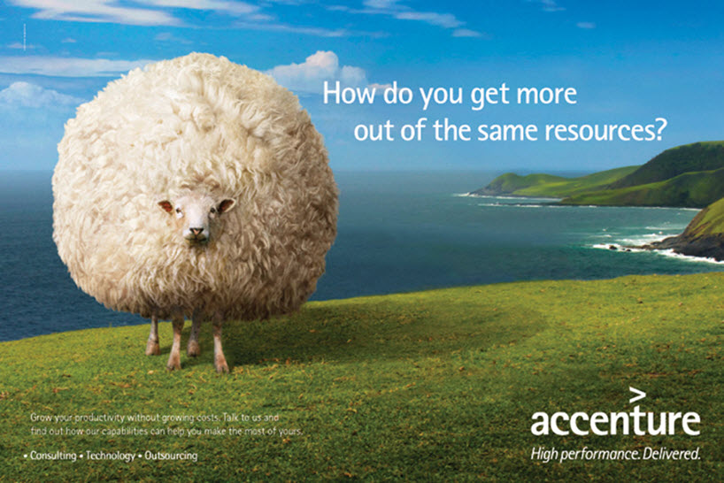 accenture_sheep_airport_advertisement