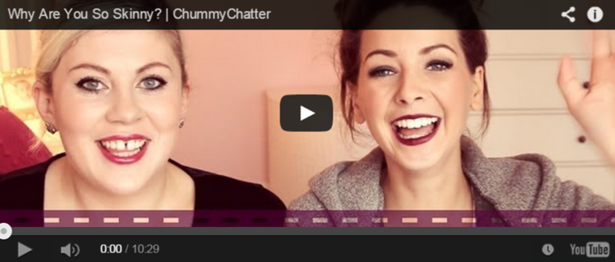 Zoella screen grab