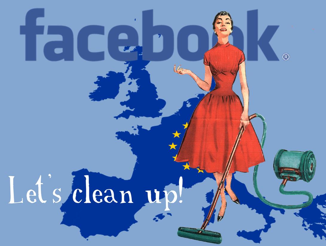 Europe's Digital Czar criticises Facebook's electronic